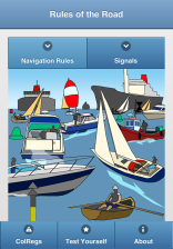 Nautical Rules of the Road for all Seagoing Sail and Power Vessels