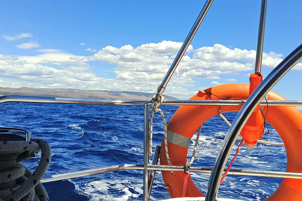 Fire prevention on boats