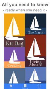 Start Sailing: all about sailing. SafeSkipper Boating Apps.