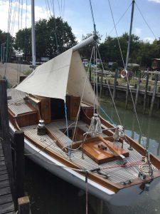 wooden hull maintenance