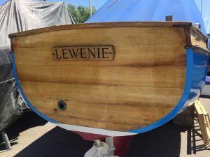 wooden hull