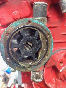 diesel boat engine impeller