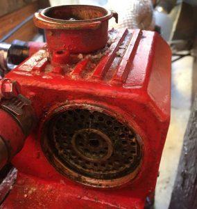 Diesel boat engine winterisation