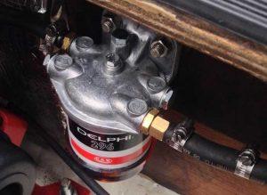 Diesel engine primary filter