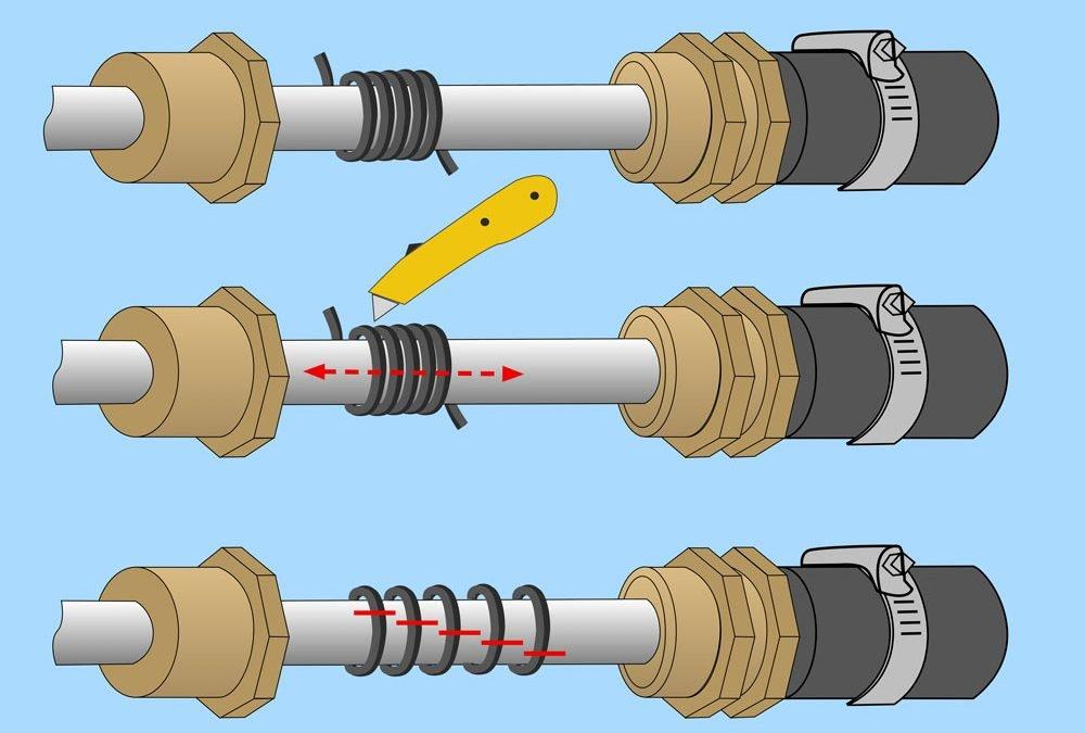 Stern gear maintenance
